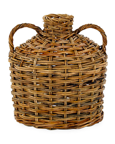 Cottage Two-Handled Woven Jug