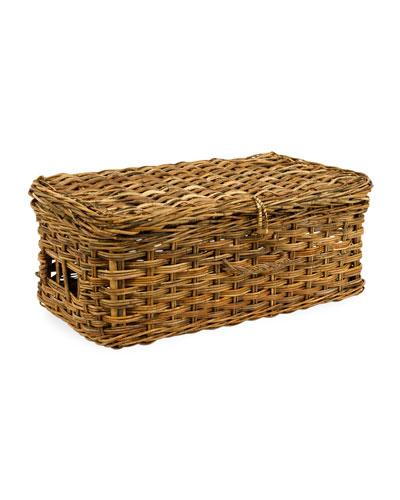 Cottage Basket Suitcase