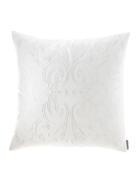 Lili Alessandra Emma Square Applique Decorative Pillow