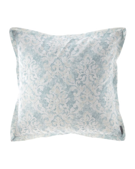Florencia Faded Damask European Sham