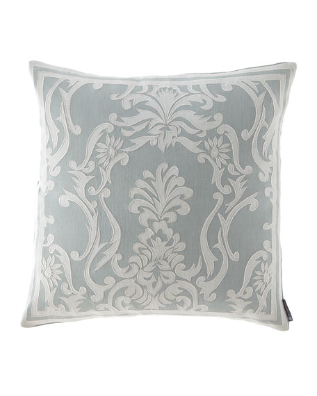 Lili Alessandra Maria Square Applique Decorative Pillow