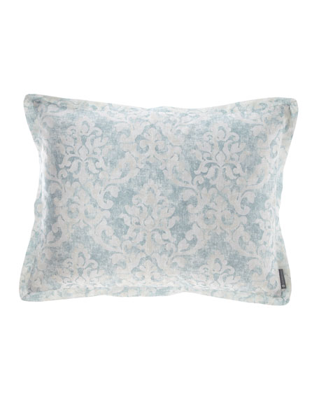 Florencia Faded Damask King Sham