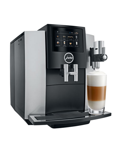 S8 Automatic Coffee Machine, Moonlight Silver