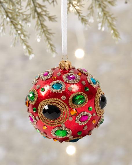 Jeweled & Beaded Ornament