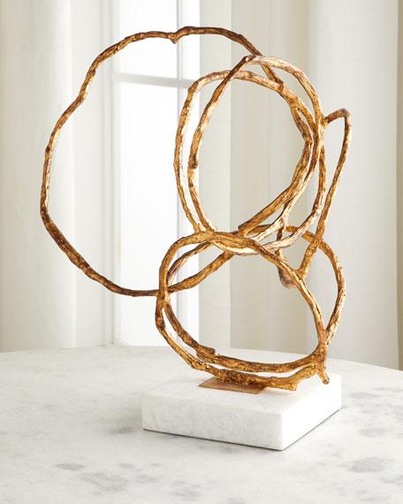 Metal Loop Sculpture