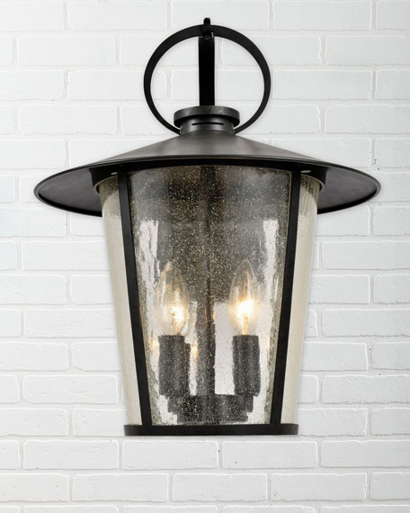 Crystorama Andover Outdoor 4-Light Sconce