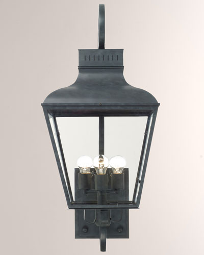 Dunmont Outdoor 3-Light Sconce