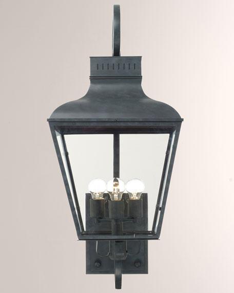 Dunmont Outdoor 3-Light Sconce