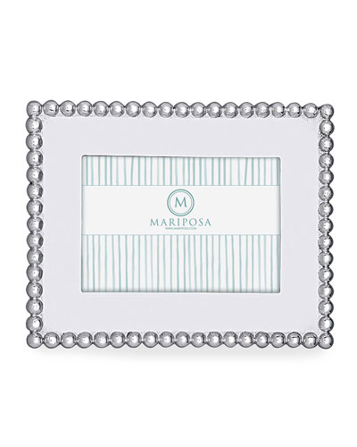 Pearled Picture Picture Frame  4 x 6