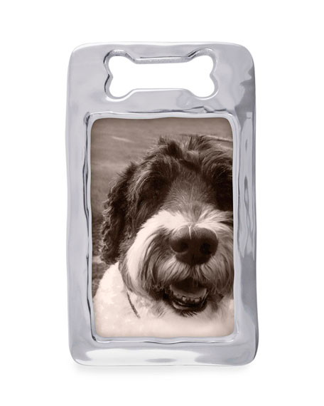 "Open Dog Bone Picture Frame,  4"" x 6"""