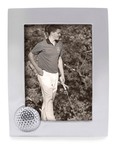 Golf Ball Picture Frame   5 x 7