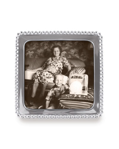 Beaded Picture Frame   5Sq.