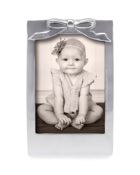 "Bow Picture Frame,  5"" x 7"""