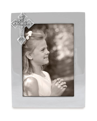 Cross Picture Frame   5 x 7