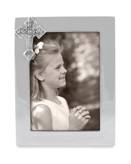 "Cross Picture Frame,  5"" x 7"""