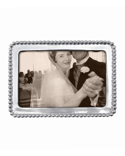 Beaded Picture Frame   4 x 6