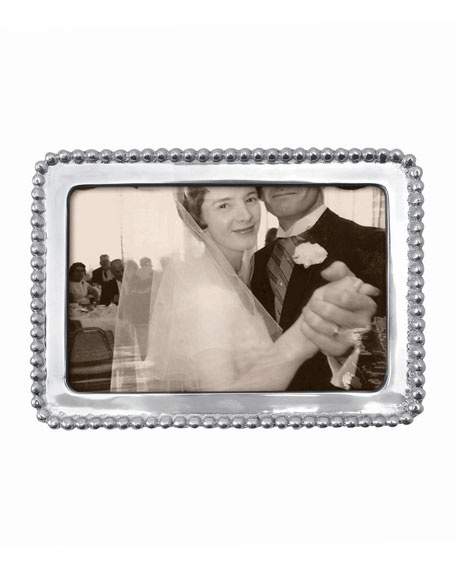 "Beaded Picture Frame,  4"" x 6"""