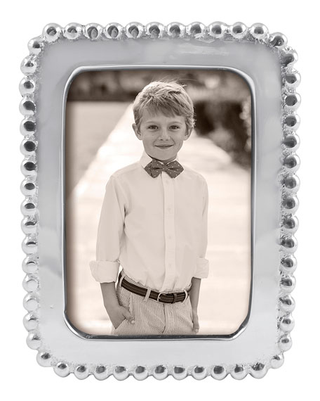 "Beaded Picture Frame,  2"" x 3"""