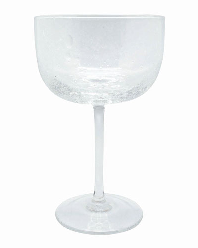 Bellini Clear Champagne Coupes  Set of 4