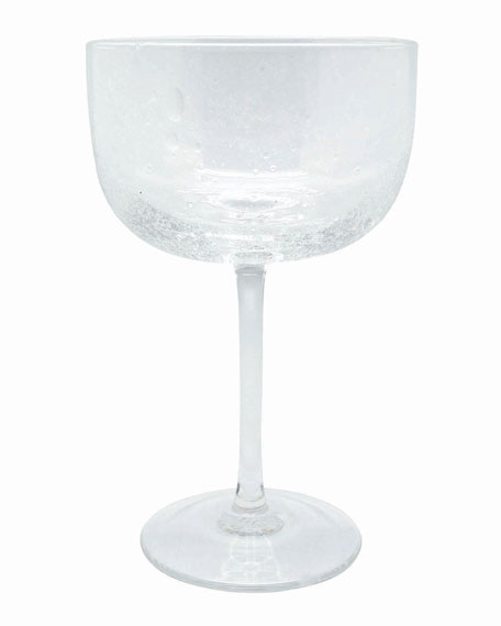 Bellini Clear Champagne Coupes, Set of 4