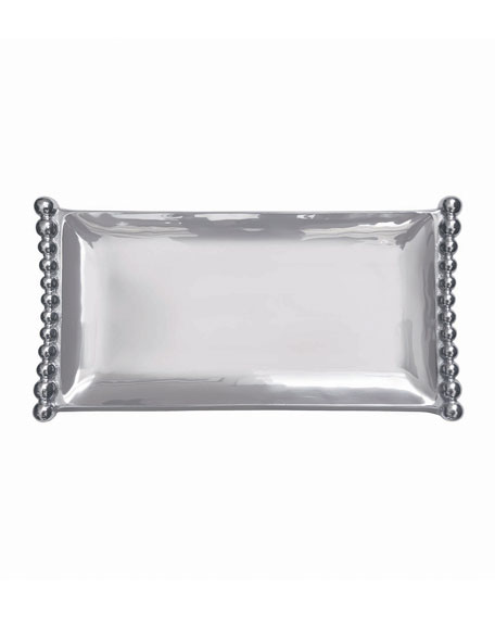 Pearled Flanked Tray