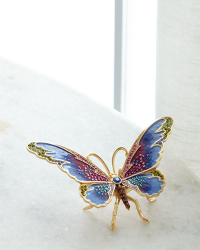 Large Butterfly Figurine