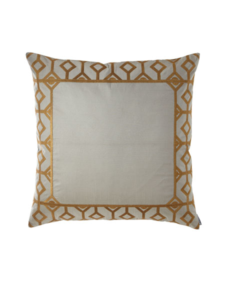 Yasmina Embroidered Border European Pillow