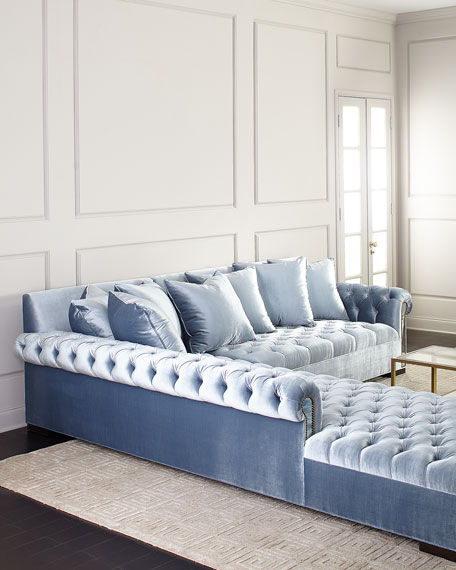 Divine Mirror Trim Sectional