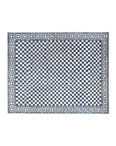 Royal Check Rug  8' x 10'