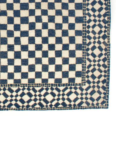 Royal Check Rug  9' x 12'