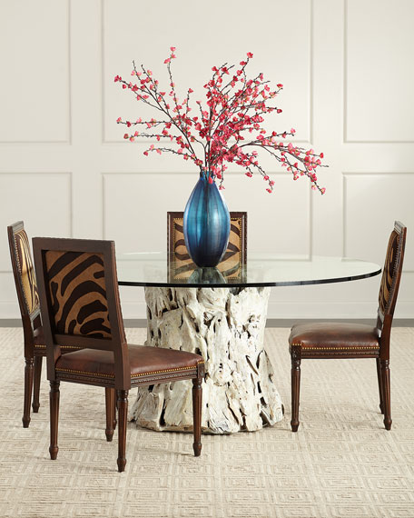 Arteriors Weatherby Dining Table, 72