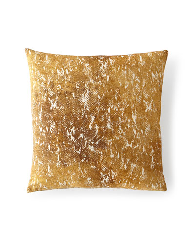 Cobra Gold Decorative Pillow