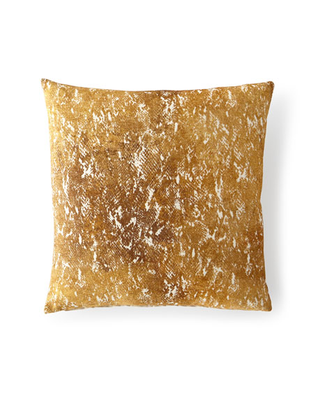 Eastern Accents Cobra Gold Decorative Pillow