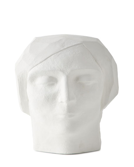 Global Views Plaster Bust Male