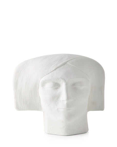 Plaster Bust Female