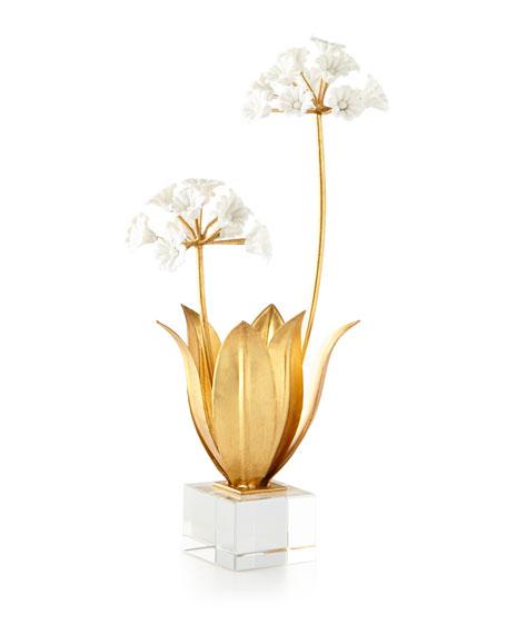 Allium Moly in Porcelain