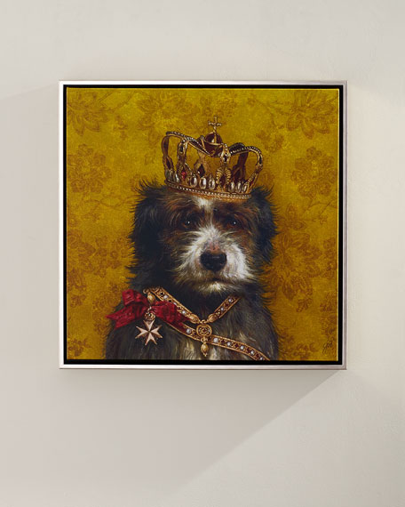 """King"" Giclee Canvas Art"