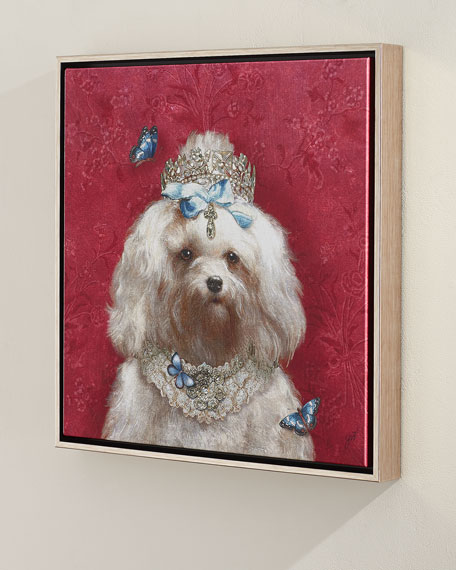 """Queenie"" Giclee Canvas Art"