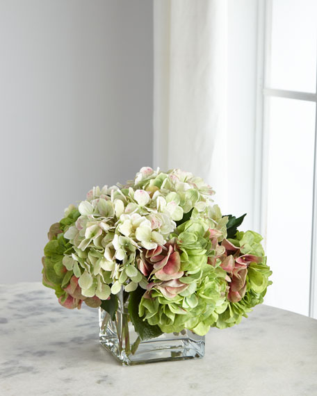 Hydrangea Green Florals