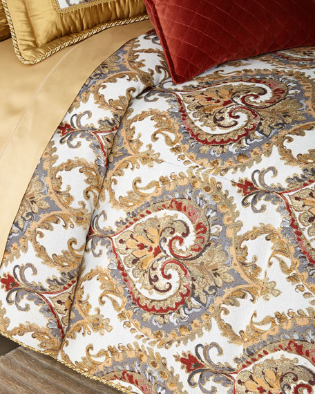 Austin Horn Collection Ainsley 3-Piece Queen Comforter Set
