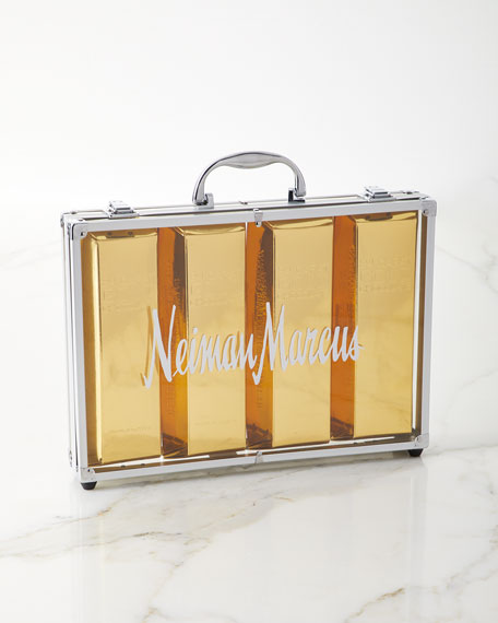 Gold Chocolate Bar Briefcase