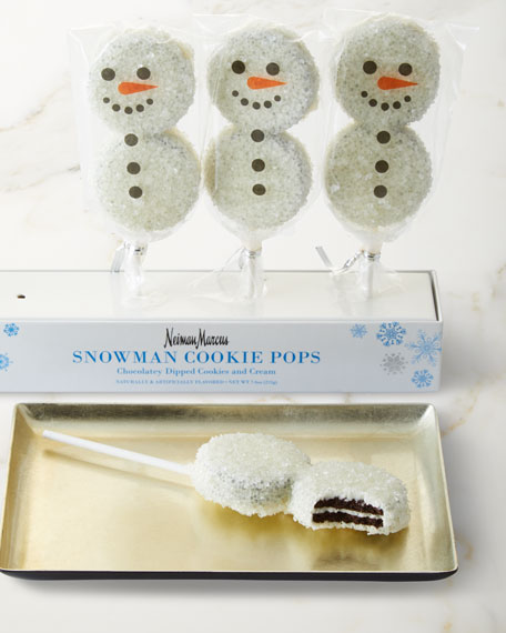 Neiman Marcus Snowman Cookie Pops