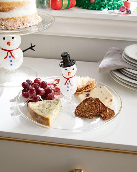 Massimo Lunardon Snowman Platter