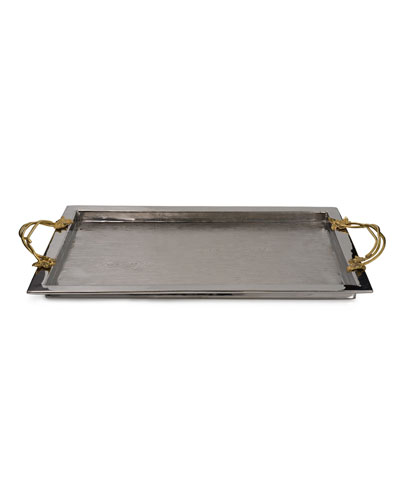 Ivy Oak Serving Tray