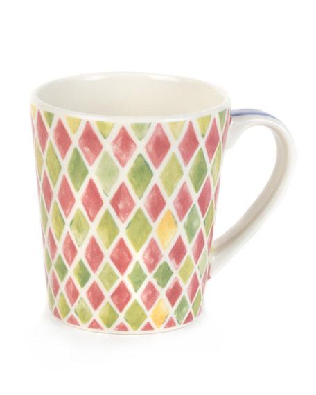 Carnaby Diamond Patterned Mug