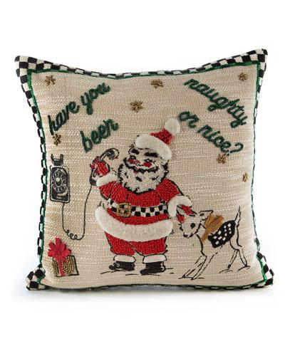 Santa Is Calling Pillow
