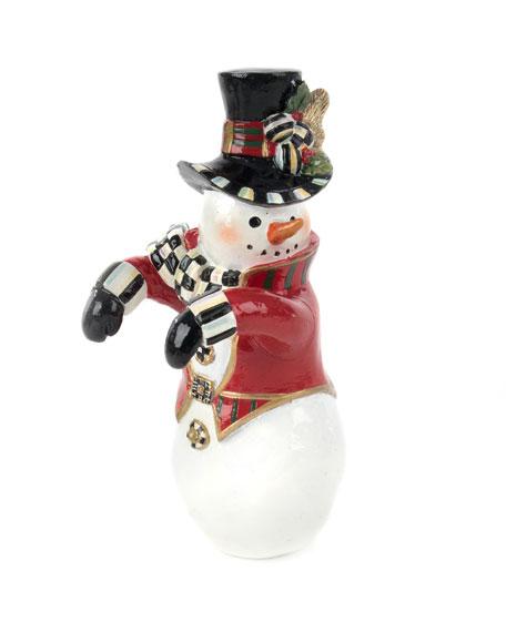Top Hat Snowman Pot Climber