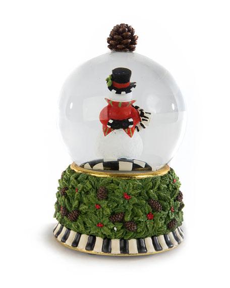 Snowman Snow Globe