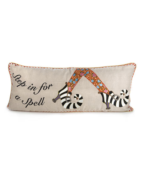 Step In For A Spell Pillow