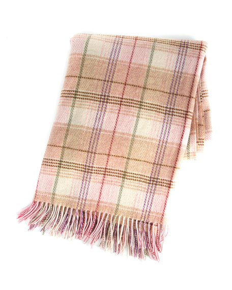 MacKenzie-Childs Giulietta Plaid Throw